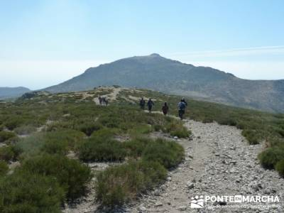 Travesía por la Sierra de la Maliciosa - Senderismo Madrid; la vall d aran